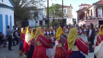 Χορός στην Εκδήλωση της Παρασκευής του Πάσχα