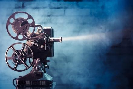 Βιντεοθήκη - Παλιά κινηματογραφική μηχανή προβολής